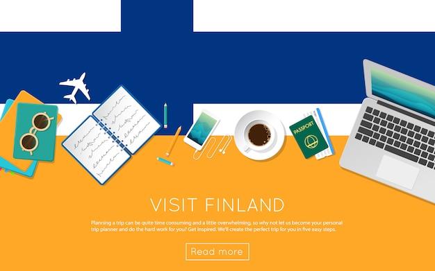 Odwiedź stronę finlandii, aby uzyskać swój baner internetowy