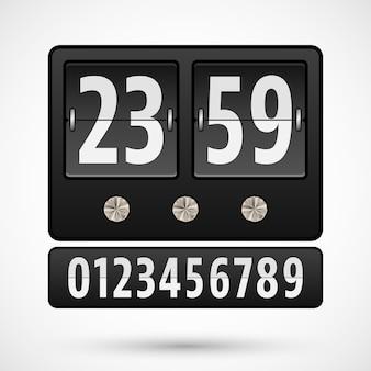 Odwróć zegar lub minutnik