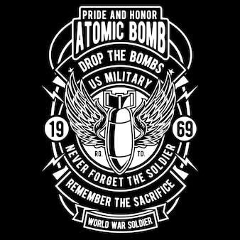Odznaka bomby atomowej