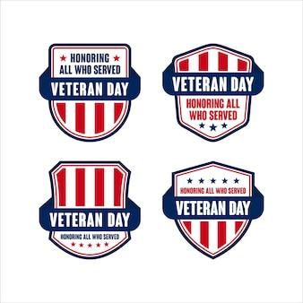 Odznaka dzień weterana tarcza