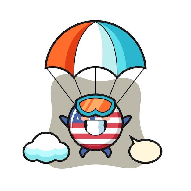 Odznaka flagi stanów zjednoczonych, ładny styl na koszulkę, naklejkę, element logo
