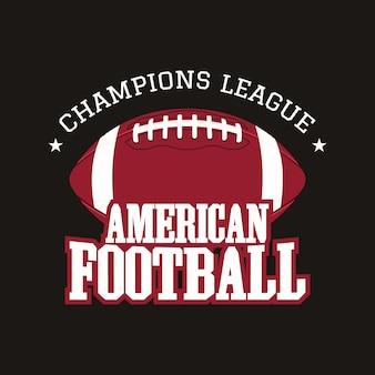 Odznaka futbolu amerykańskiego