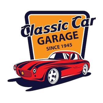 Odznaka klasycznego samochodu
