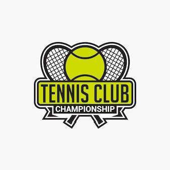 Odznaka klubu tenisowego