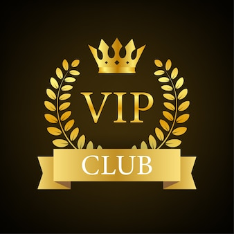 Odznaka klubu vip