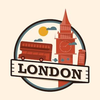 Odznaka miasta londyn, anglia
