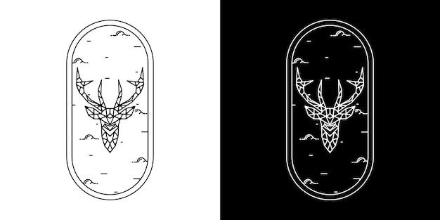 Odznaka monoline vintage