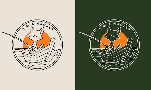 Odznaka monoliny kotka dziwka