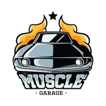 Odznaka muscle car