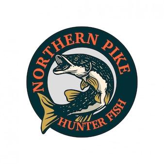 Odznaka północnego koła szczupaków