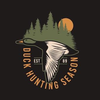 Odznaka polowania na dziką kaczkę