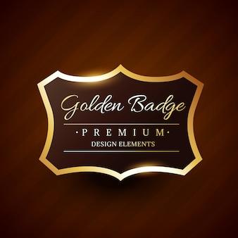 Odznaka premium goldeb