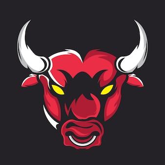 Odznaka projektu głowy byka