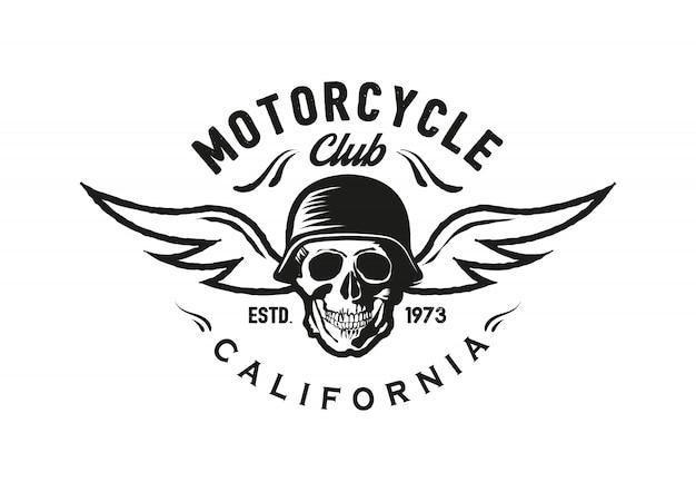 Odznaka rocznika motocykla, logo, godło