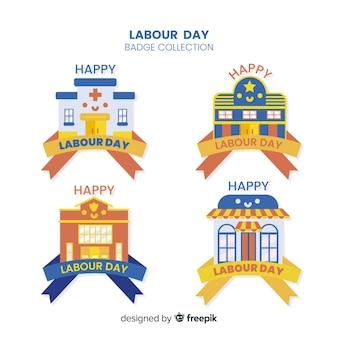Odznaka z okazji dnia pracy