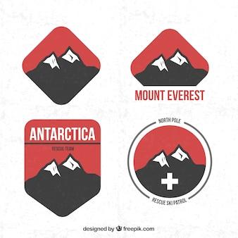 Odznaki górskie