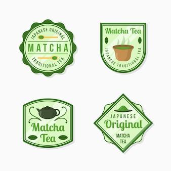 Odznaki herbaty matcha