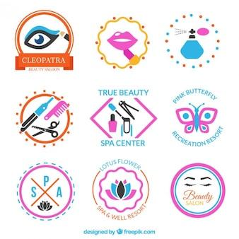 Odznaki kolekcję piękności