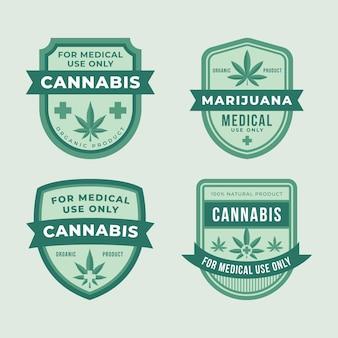 Odznaki medycznej marihuany