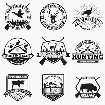Odznaki myśliwskie