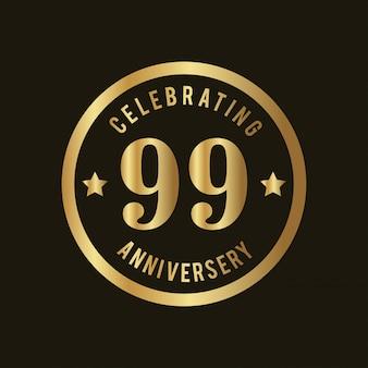 Odznaki na 99-lecie