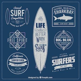 Odznaki surf