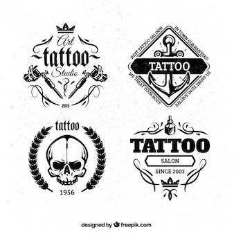 Odznaki tatuaż