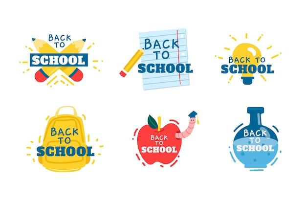 Odznaki z powrotem do szkoły