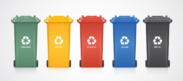 Odzyskuj pojemniki na śmieci