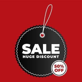 Oferta specjalna sprzedaży i metki z ceną
