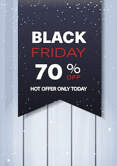 Oferta specjalna wyprzedaż promocyjny marketing szablon czarny piątek świąteczne zakupy