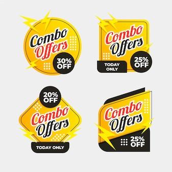 Oferty combo - etykiety