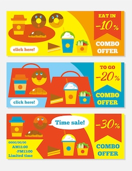 Oferty combo - kolekcja banerów