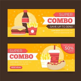 Oferty combo - koncepcja banerów