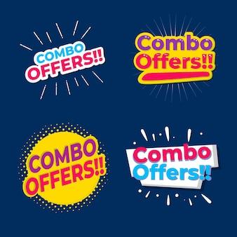 Oferty combo - koncepcja etykiet