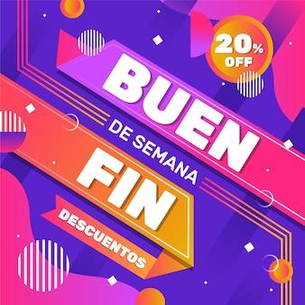 Oferty specjalne rocznej sprzedaży meksykańskiej efekt memphis