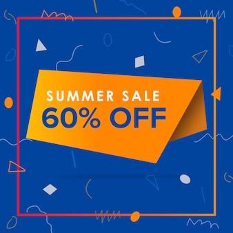 Oferty sprzedaży letniej projektowanie bannerów