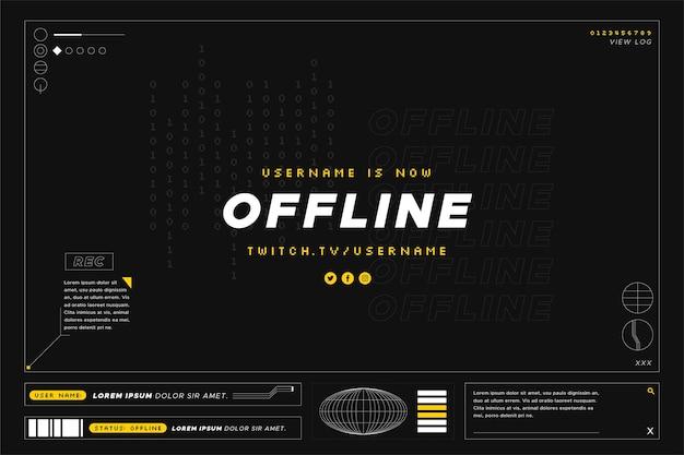 Offline styl drgania baner gammer