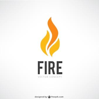 Ogień logo
