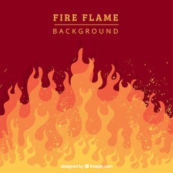 Ogień tło