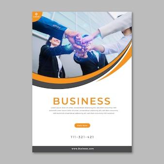 Ogólna koncepcja plakatu biznesowego