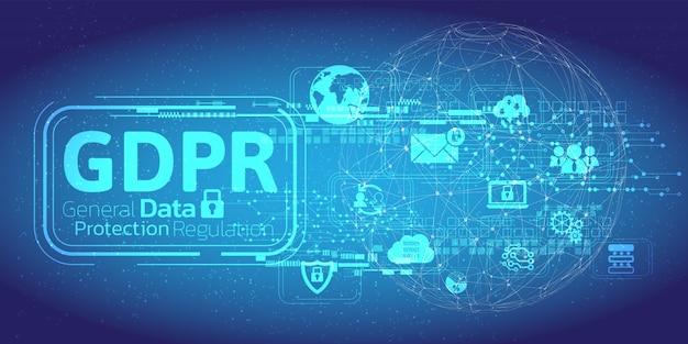 Ogólna koncepcja rozporządzenia o ochronie danych.