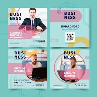 Ogólne posty biznesowe na instagramie