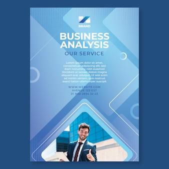 Ogólne ulotki biznesowe w pionie
