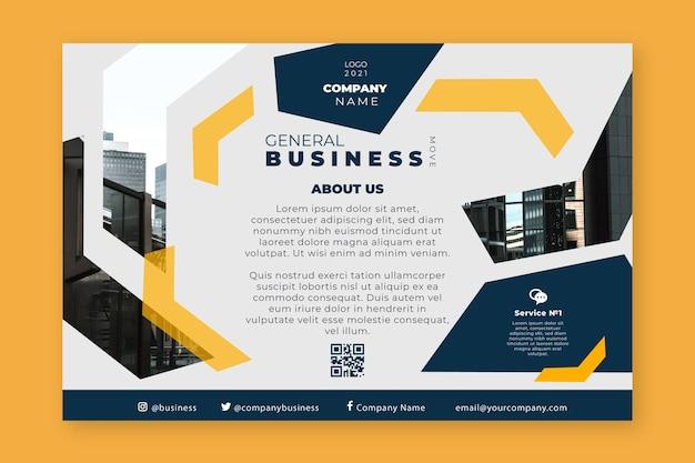 Ogólny baner biznesowy