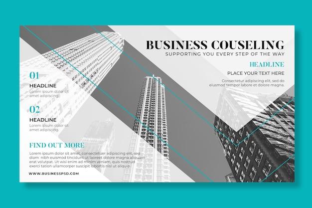 Ogólny biznes poziomy baner