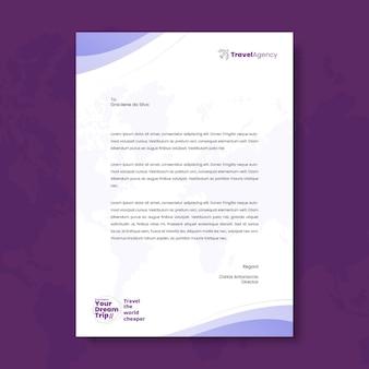 Ogólny szablon firmowego papieru firmowego