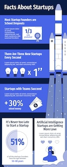 Ogólny szablon infografiki firmy monocolor