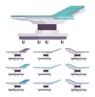 Ogólny zestaw stolików chirurgicznych