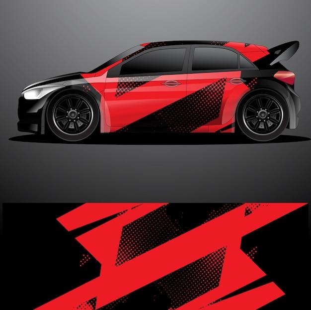 Okładka graficzna na samochód rajdowy